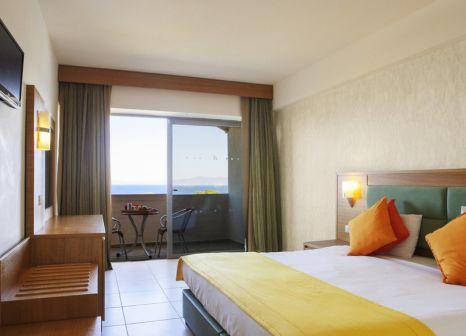 Hotelzimmer mit Tischtennis im Hotel Ialyssos Bay