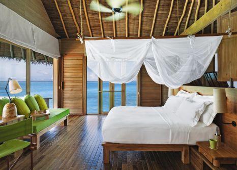 Hotelzimmer mit Fitness im Six Senses Laamu