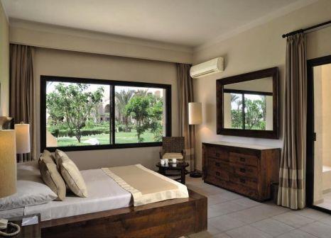 Hotelzimmer mit Mountainbike im Jaz Makadi Saraya Palms