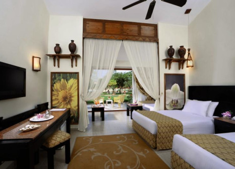 Hotelzimmer mit Volleyball im Jungle Aqua Park