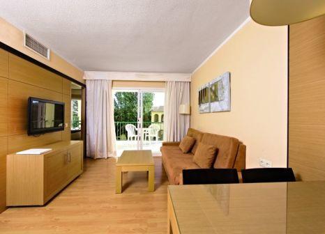 Hotelzimmer mit Mountainbike im Hotel Zafiro Tropic