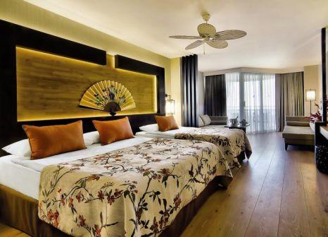 Hotelzimmer mit Yoga im Limak Lara Deluxe Hotel & Resort