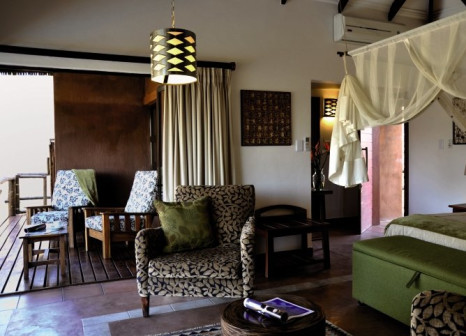 Hotelzimmer mit Pool im Idube Game Reserve