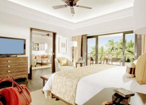 Hotelzimmer mit Mountainbike im The Leela Goa