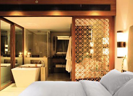 Hotelzimmer mit Mountainbike im Alila Diwa Goa & The Diwa Club