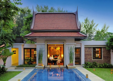 Hotelzimmer mit Yoga im Banyan Tree Phuket
