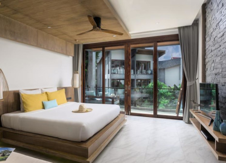 Hotelzimmer mit Paddeln im Idyllic Concept Resort