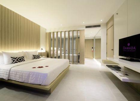 Hotelzimmer mit Mountainbike im Ramada Khao Lak Resort