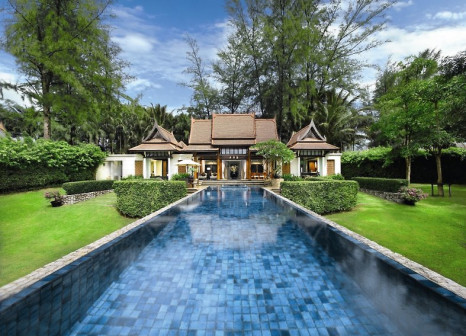 Hotelzimmer mit Volleyball im Banyan Tree Phuket