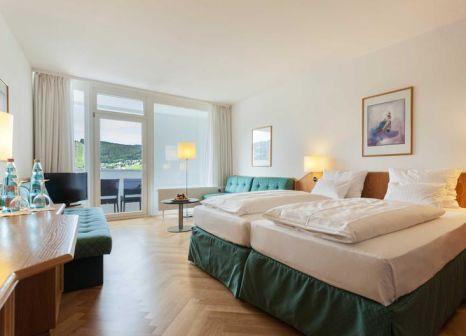 Hotelzimmer mit Mountainbike im Sauerland Stern Hotel
