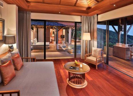 Hotelzimmer mit Mountainbike im Pimalai Resort & Spa