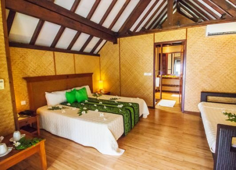 Hotelzimmer mit Paddeln im Maitai Rangiroa