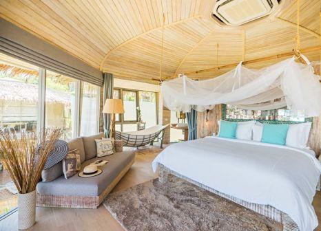 Hotelzimmer mit Volleyball im TreeHouse Villas