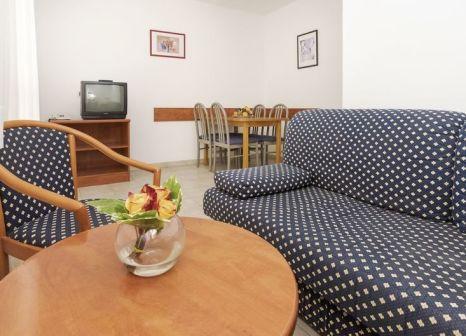 Hotelzimmer mit Volleyball im Apartments Polynesia Plava Laguna