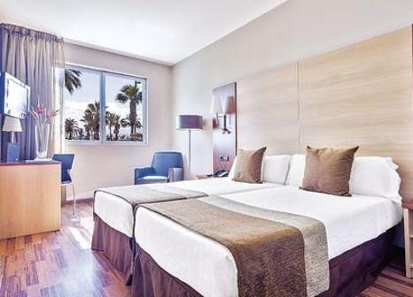 Hotelzimmer mit Fitness im Hotel Front Marítim