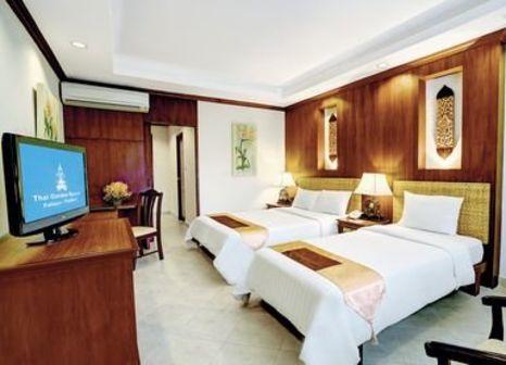 Hotelzimmer mit Minigolf im Thai Garden Resort