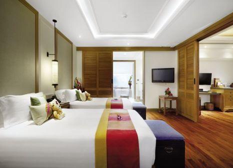 Hotelzimmer mit Volleyball im Santiburi Koh Samui