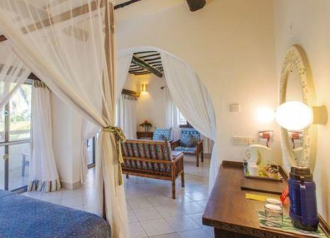 Hotelzimmer mit Minigolf im Turtle Bay Kenya