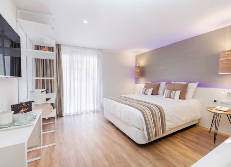 Hotelzimmer mit Volleyball im Tigotan Lovers & Friends