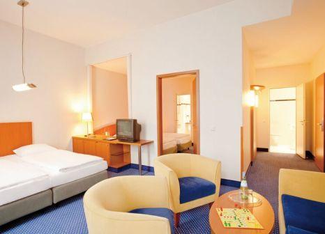 Hotelzimmer mit Mountainbike im Hotel Baltic Stralsund
