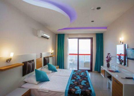 Hotelzimmer mit Volleyball im Kleopatra Ada Beach