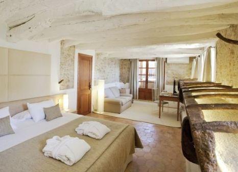 Hotelzimmer mit Mountainbike im Hotel Can Simoneta