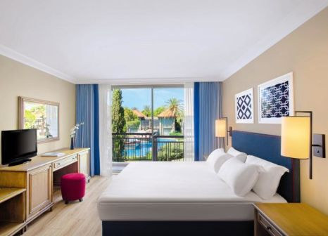 Hotelzimmer mit Volleyball im IC Hotels Green Palace
