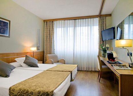 Hotelzimmer mit Fitness im EuroHotel Barcelona Diagonal Port