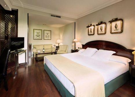 Hotelzimmer mit Kinderpool im Sercotel Gran Hotel Conde Duque