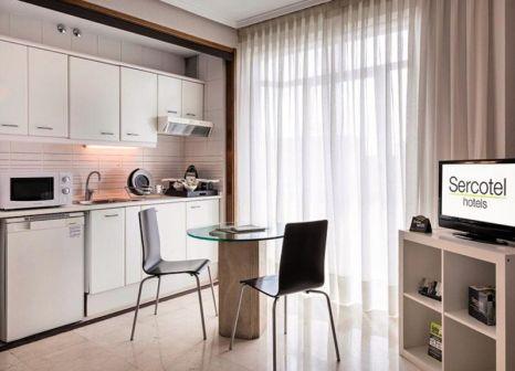 Hotelzimmer mit Restaurant im Sercotel Togumar