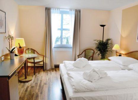 Hotelzimmer mit Mountainbike im Berg & Spa Hotel Gabelbach