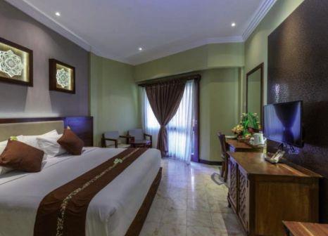 Hotelzimmer mit Mountainbike im Pelangi Bali