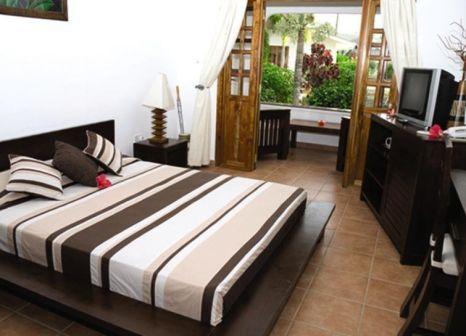 Hotelzimmer mit Sandstrand im The Britannia Hotel Praslin