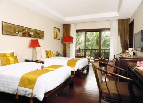 Hotelzimmer mit Mountainbike im Khaolak Oriental Resort