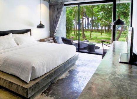 Hotelzimmer mit Mountainbike im Suwan Palm Beach Resort