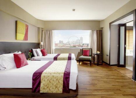 Hotelzimmer mit Golf im Ramada Plaza by Wyndham Bangkok Menam Riverside