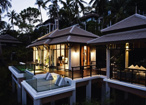 Hotelzimmer mit Yoga im Banyan Tree Samui