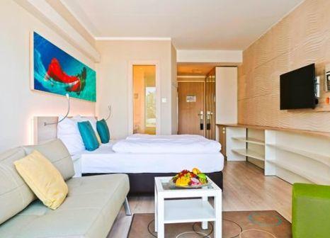 Hotelzimmer mit Aerobic im SEETELHOTEL Kaiserstrand Beachhotel