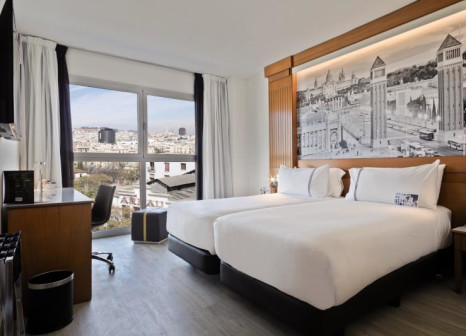Hotelzimmer mit Kinderbetreuung im TRYP Barcelona Apolo Hotel