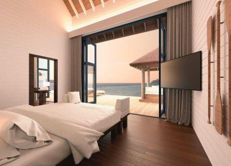 Hotelzimmer mit Yoga im COMO Cocoa Island