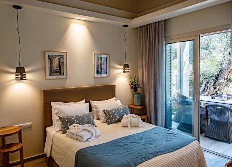Hotelzimmer mit Mountainbike im La Riviera Barbati