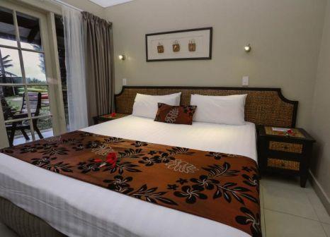 Hotelzimmer mit Paddeln im Muri Beachcomber