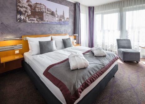 Hotelzimmer mit Tennis im Wyndham Garden Dresden