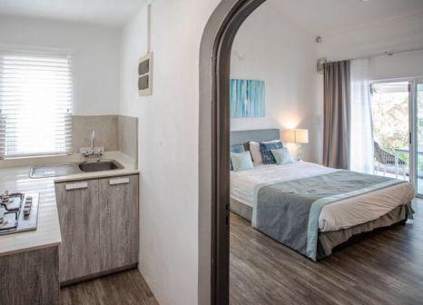 Hotelzimmer mit Mountainbike im La Mariposa