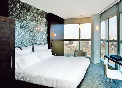 Hotelzimmer mit Mountainbike im The Gates Diagonal Barcelona