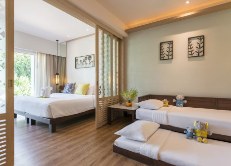 Hotelzimmer mit Yoga im Katathani Phuket Beach Resort
