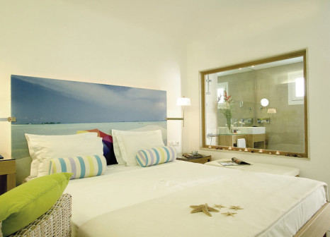 Hotelzimmer mit Mountainbike im Petasos Beach Resort & Spa