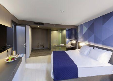 Hotelzimmer mit Mountainbike im Bosphorus Sorgun