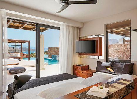 Hotelzimmer mit Mountainbike im Domes of Elounda