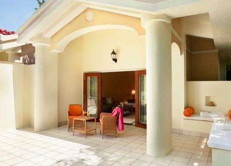 Hotelzimmer mit Mountainbike im Taj Exotica Resort & Spa, Goa